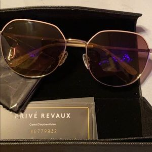 Accessories - Prive Revaux Sunglasses 🕶 BNWOB Pink/Gold Tone